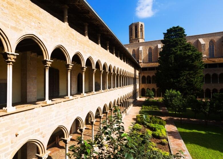 Das Kloster Pedralbes in Barcelona