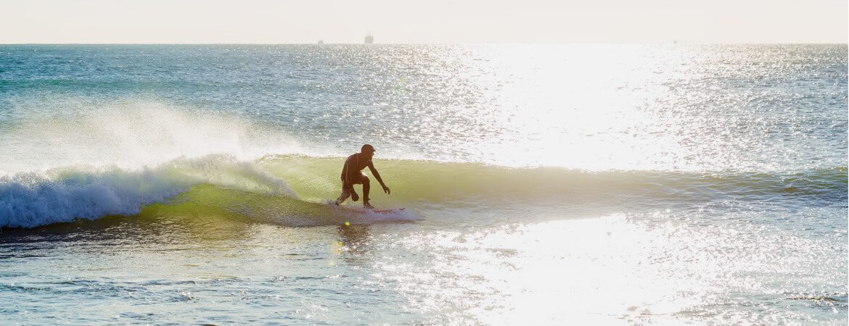 Wellenreiten in Portugal