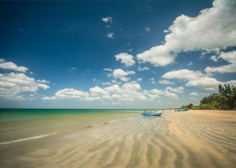 Der Strand von Uppuveli