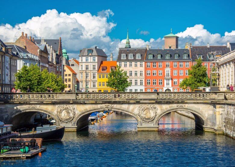 Die dänische Hauptstadt Kopenhagen