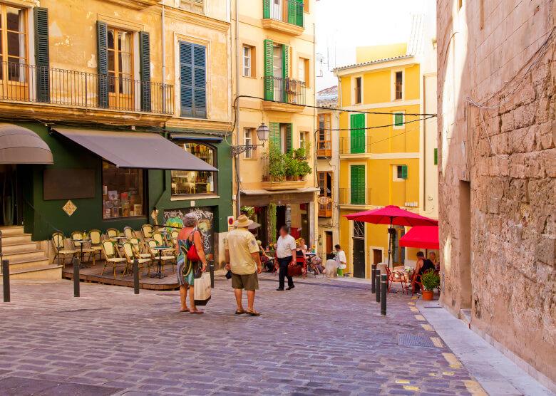 Gasse in Palma de Mallorca