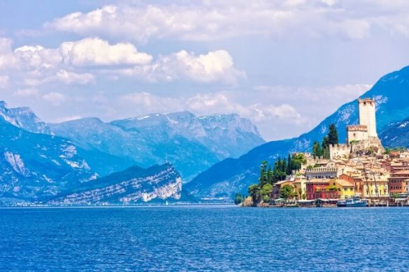 Malcesine, einer der schönsten Orte am Gardasee