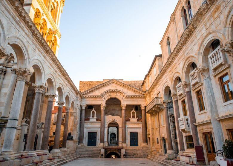 Die Kathedrale des heiligen Dominus in Split