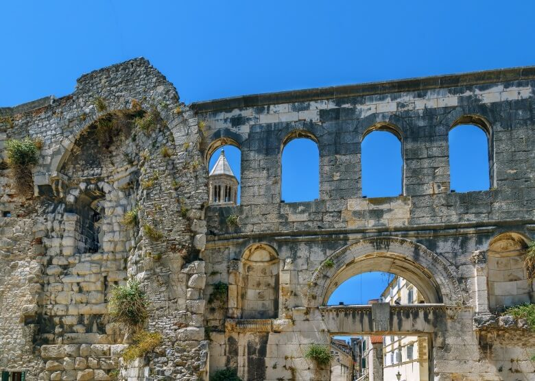 Das Silberne Tor zum Diokletianpalast