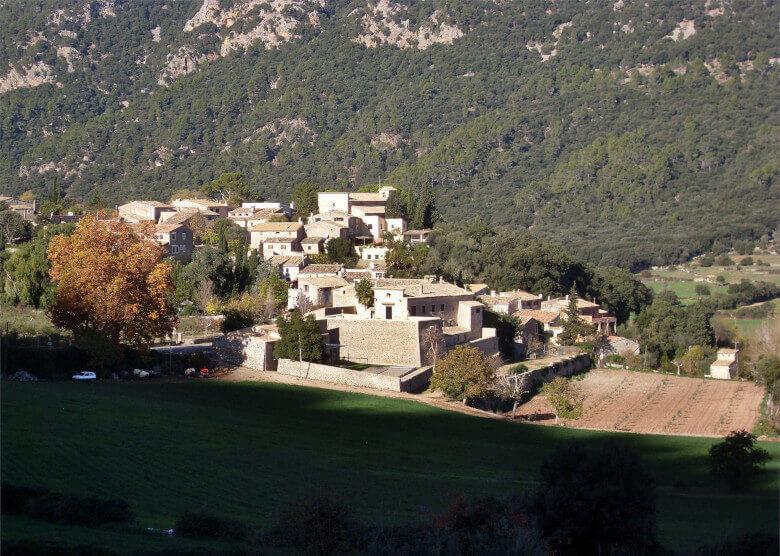 Das Bergdorf Orient auf Mallorca