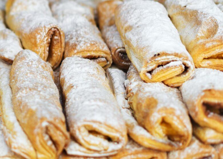 Das Dessert rundet das traumhafte portugiesische Essen ab