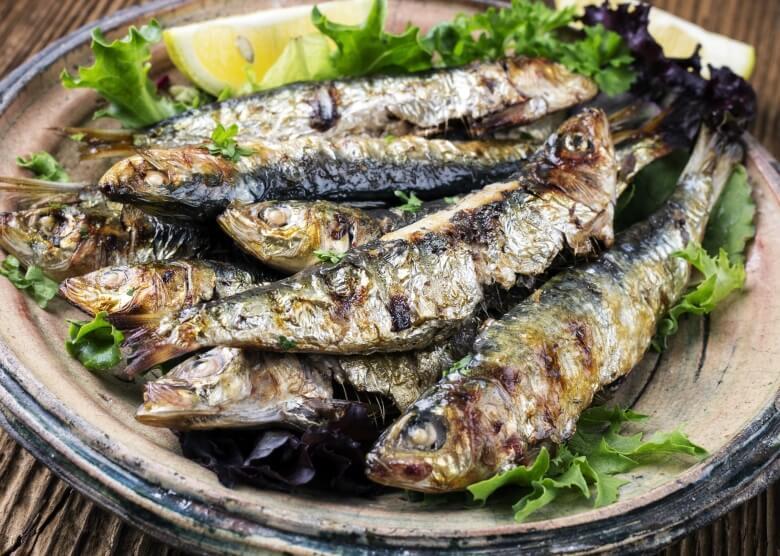 Sardinen sind eine portugiesische Spezialität