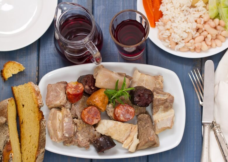 Essen für Fleischliebhaber in Portugal