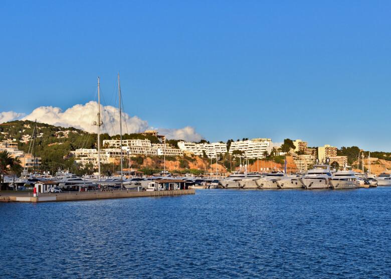 Yachthafen von Puerto Portals