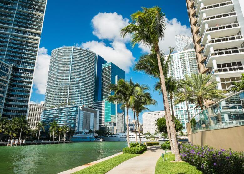 Miami im Sunshine State Florida
