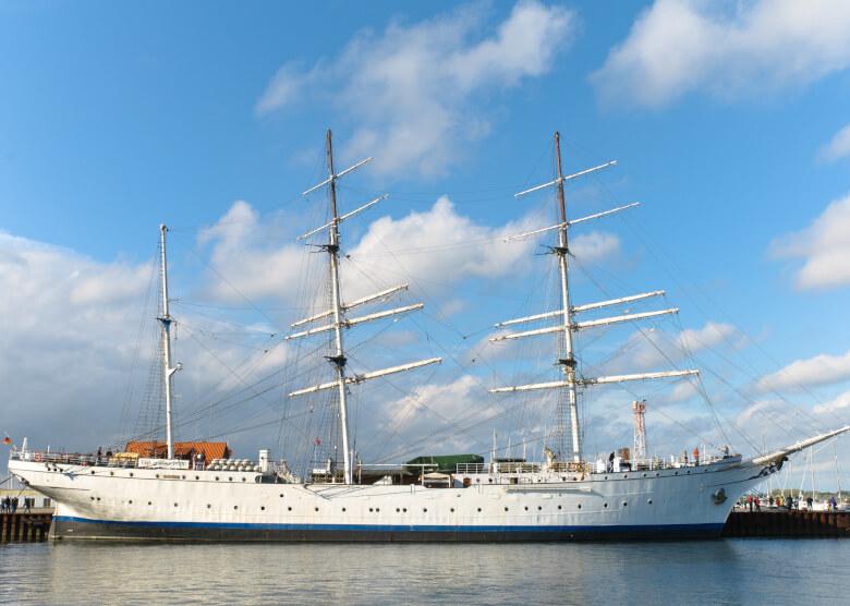 Das ehemalige Segelschulschiff Gorch Fock