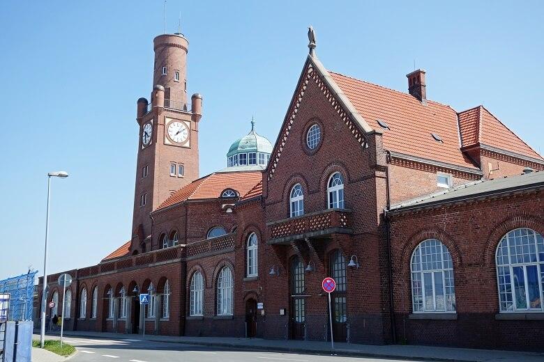 Die HAPAG-Hallen in Cuxhaven gehören zu den historisch bedeutendsten Sehenswürdigkeiten Cuxhavens