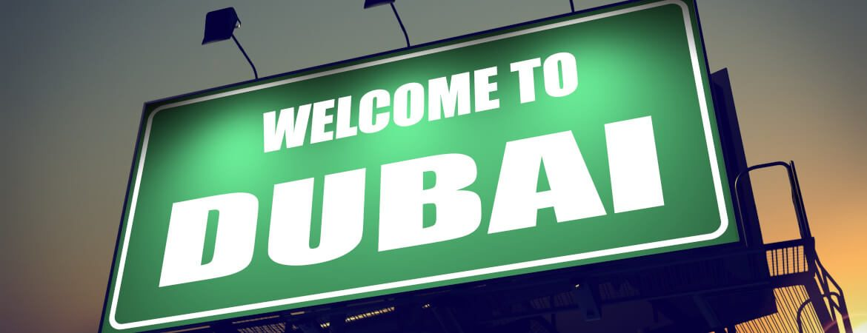Billboard Welcome to Dubai