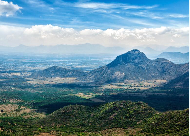 Goas Westghats-Bergkette