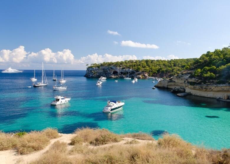 Cala Mago in der Bucht Cala Portal Vells auf Mallorca