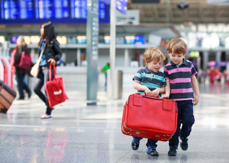 Gepäck für eine Reise nach Thailand