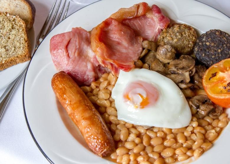 Traditionelles Irisches Frühstück