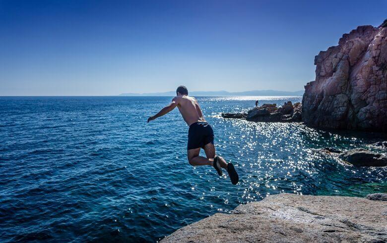 Spots zum Tauchen auf Sardinien