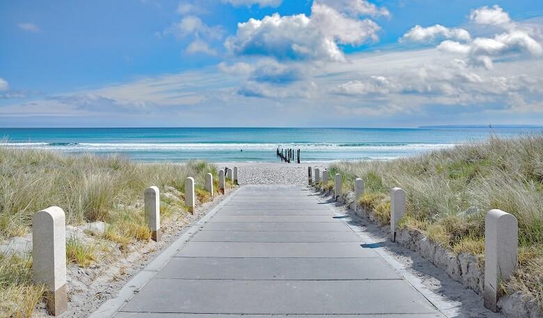 Strand Juliusruh auf der Ferieninsel Rügen