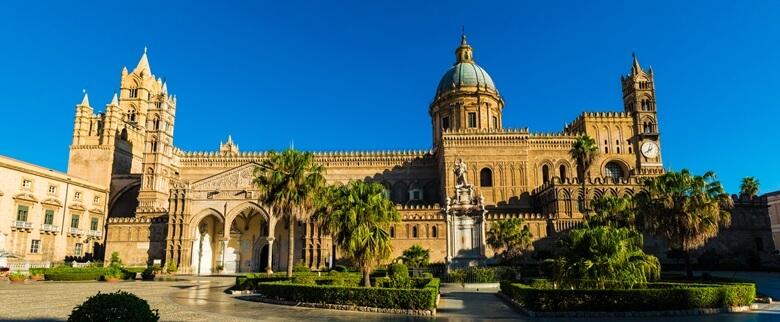 Kathedrale von Palermo auf Sizilien