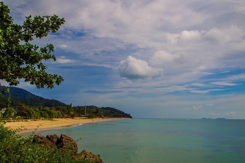 Klong Nin Beach auf Ko Lanta in Thailand