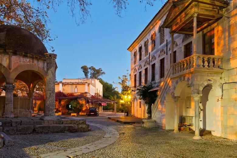 Altstadt von Kos Stadt auf der griechischen Insel Kos