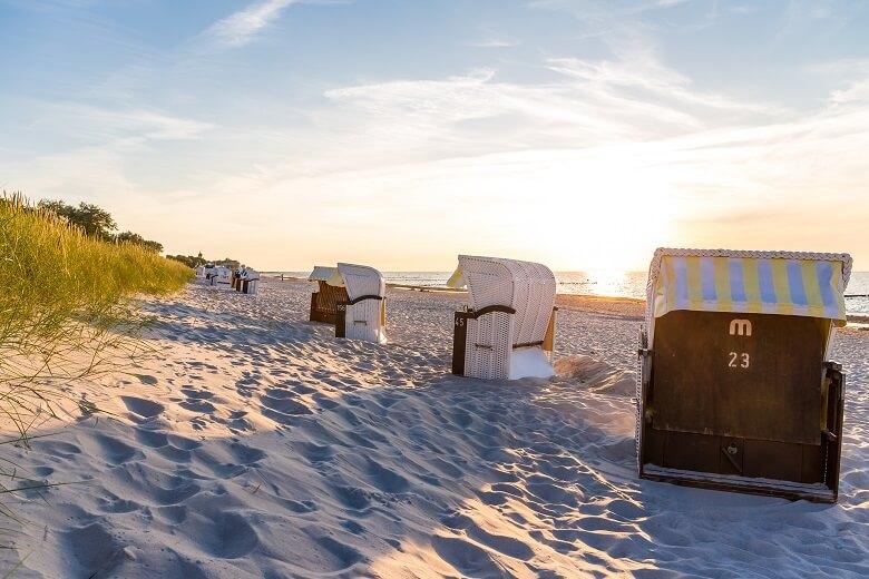 Strandkörbe in Kühlungsborn an der Ostsee