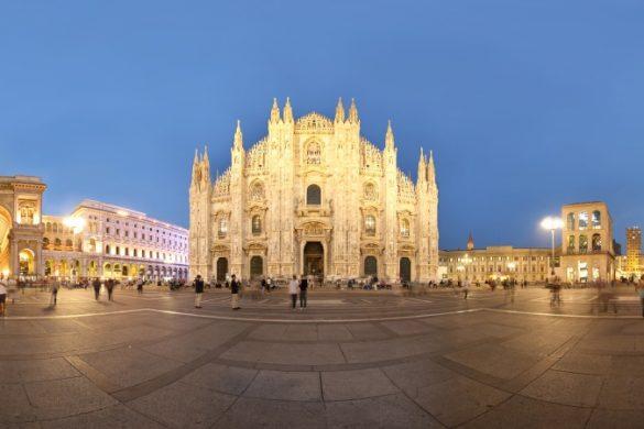 Piazza del Duomo mit Mailänder Dom