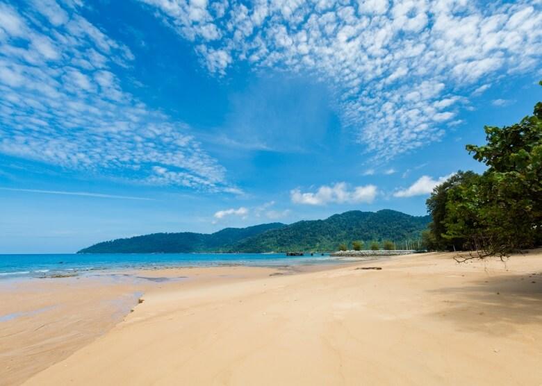 Strande der  Insel Pulau Tioman