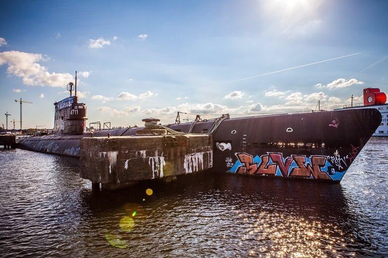Kunstprojekt an der NDSM-Werft in Amsterdam