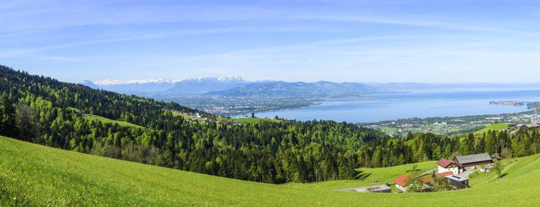 Blick über den östlichen Bodensee