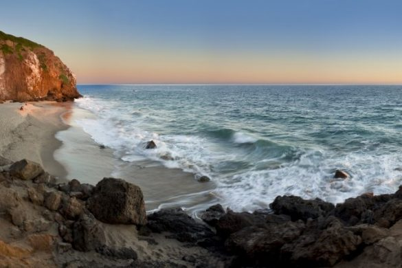 Point Dume in Kalifornien, USA