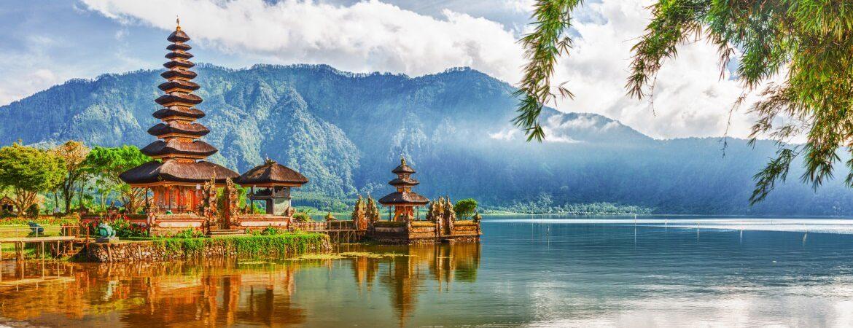 Tempelanlage Puran Ulan Danu auf Bali