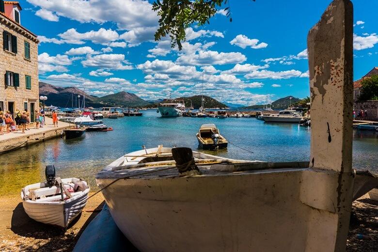 Die elaphitische Insel Sipan in Kroatien