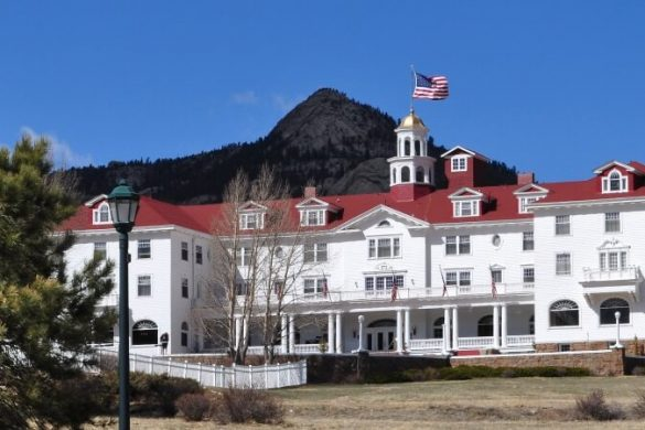 Das aus The Shining bekannte Stanley-Hotel in Colorado, USA