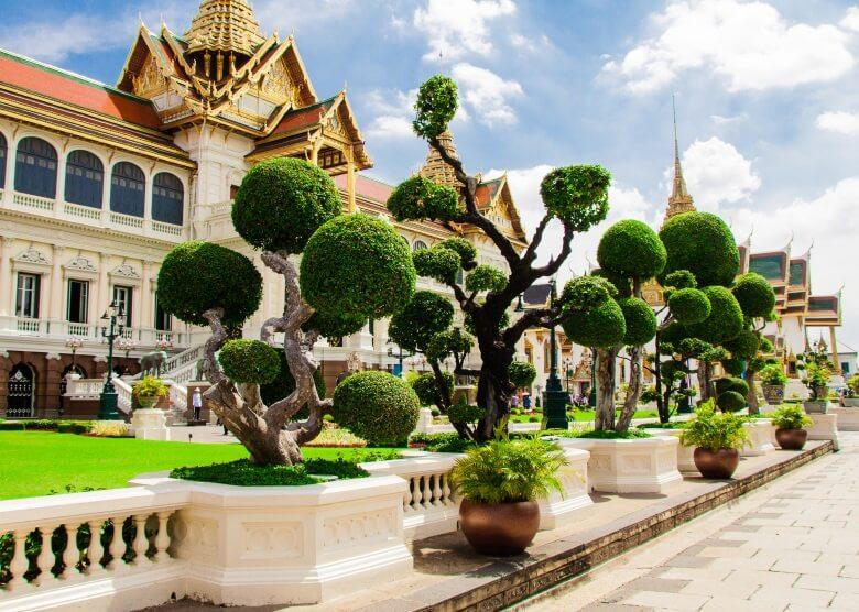 Das Gelände um den Königspalast