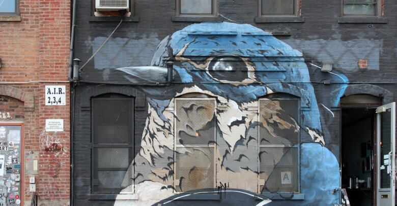 Street Art in Williamsburg, New York