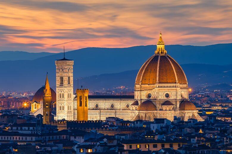 Florenz in Italien, eines der schönsten Reisziele der Welt