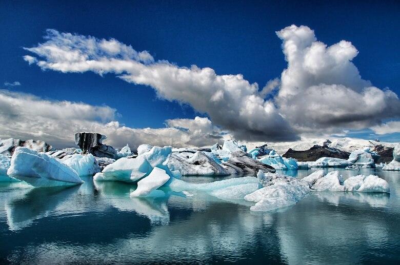 Beeindruckend: ein Gletscher in Island