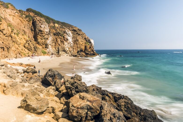 Zuma Beach in Kalifornien, USA