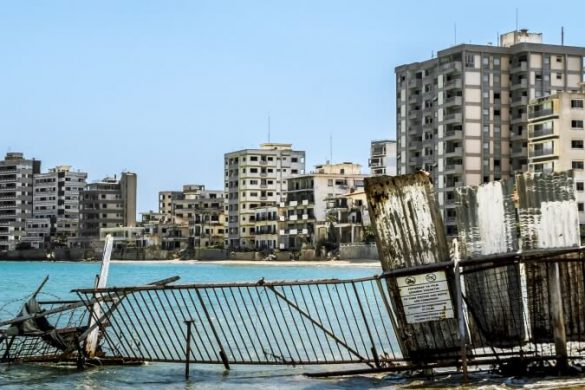 Varosha auf Zypern: heute eine Geisterstadt