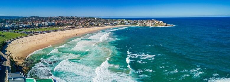Der berühmte Bondi Beach
