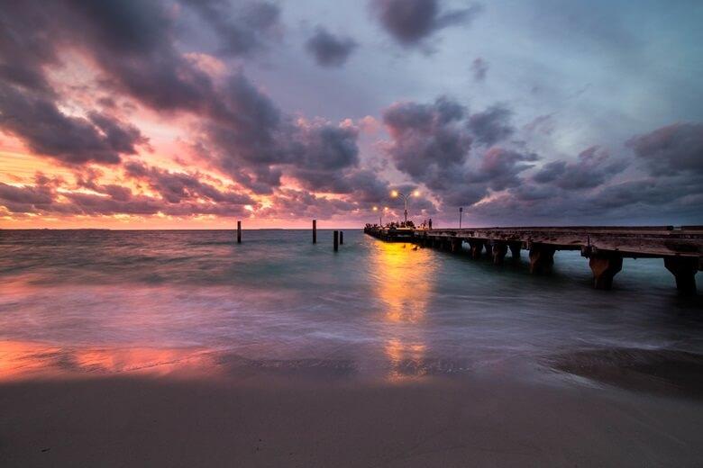 Sonnenuntergang am Coogee Beach
