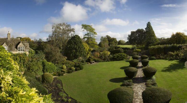 Die Gärten vom Barnsley House in Barnsley, England