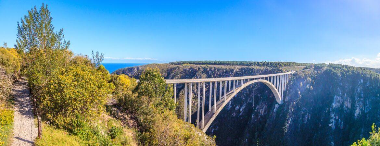 Bloukrans Bridge in Südafrika