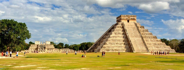 Chichen Itza bei Yucatan in Mexico