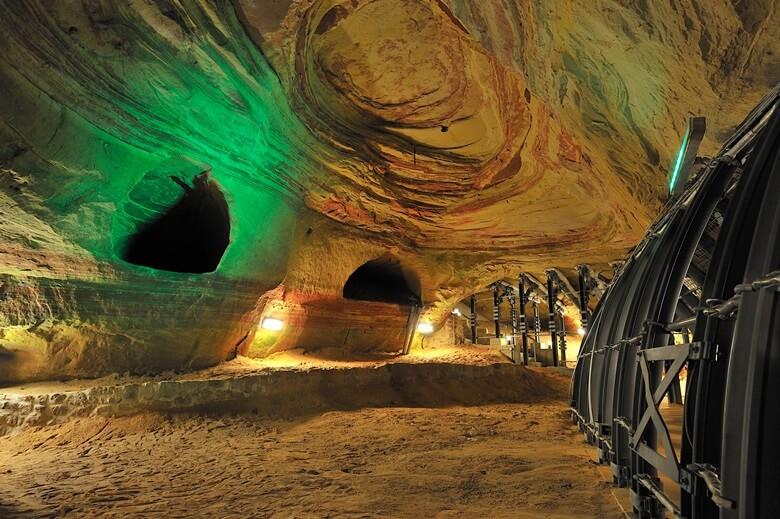 Die Homburger Schlossberghöhlen
