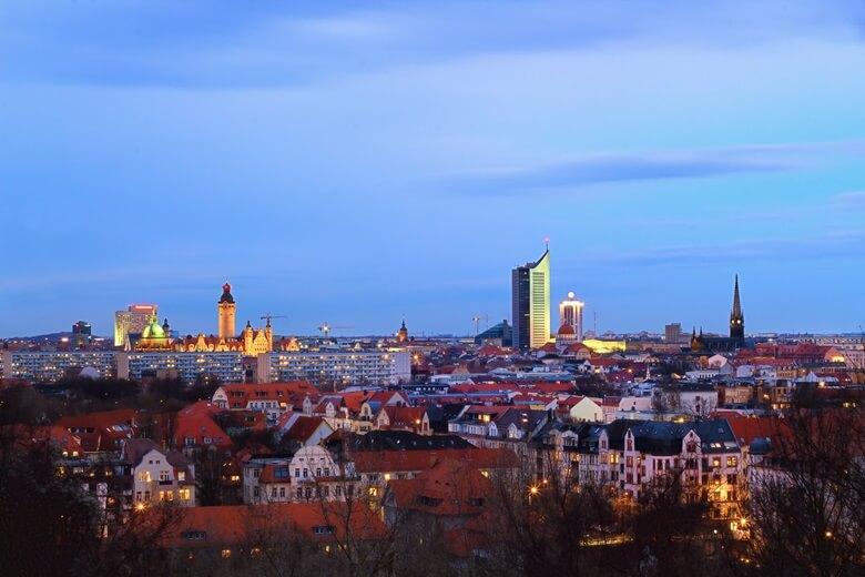 Der Fockeberg in Leipzig