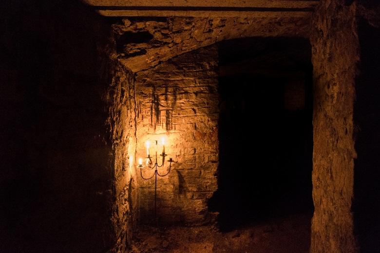 Die gruseligen Erdinburgh Vaults in Schottland
