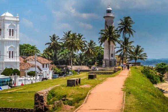 Weltkulturerbe und Hafenstadt Galle im Süden Sri Lankas